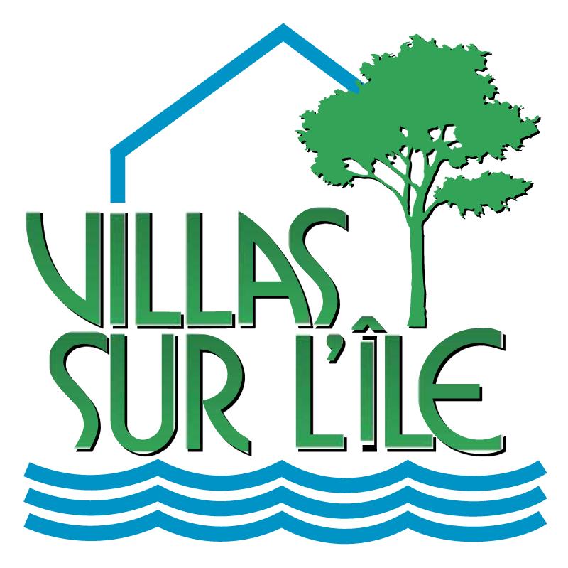 Villas Sur L'Ile vector