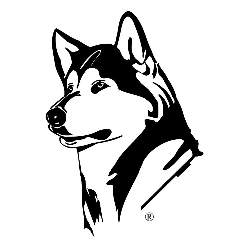 Washington Huskies vector logo