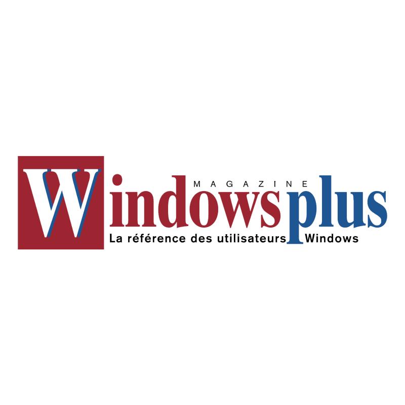Windows Plus vector