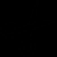 IOS 7 symbol, scissor vector