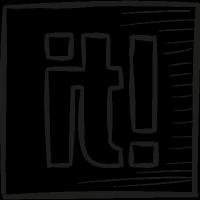 Scoop It Draw Logo vector