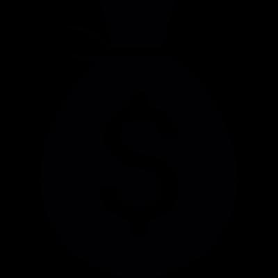 Money Bag Icon vector logo