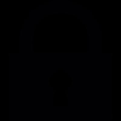 Closed Lock vector logo