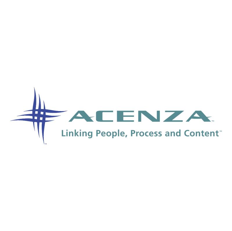 Acenza vector logo