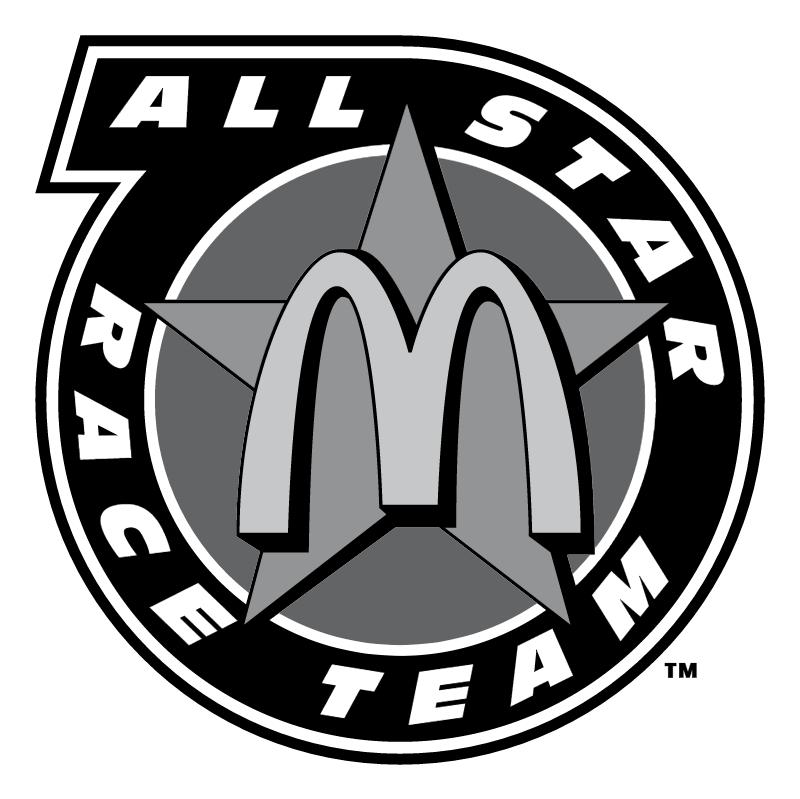 All Star Race Team vector