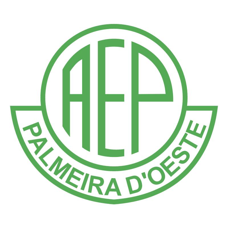 Associacao Esportiva Palmeiras de Palmeira D'Oeste SP 79052 vector