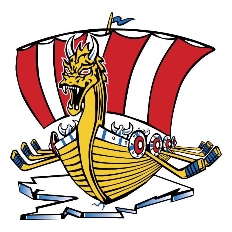 Baie Comeau Drakkar vector