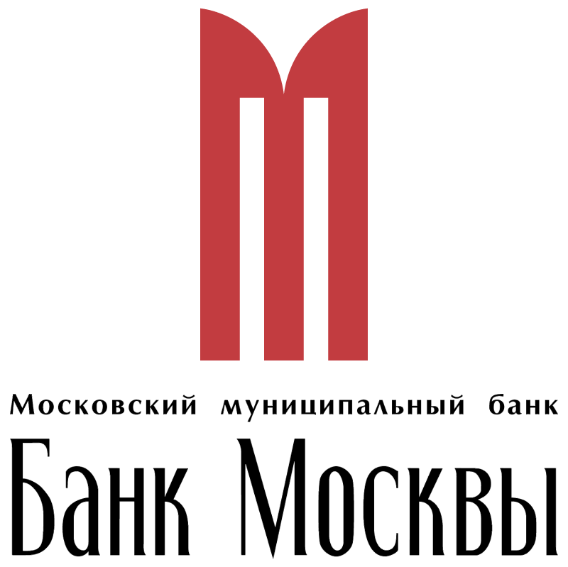 Bank Moscow vector