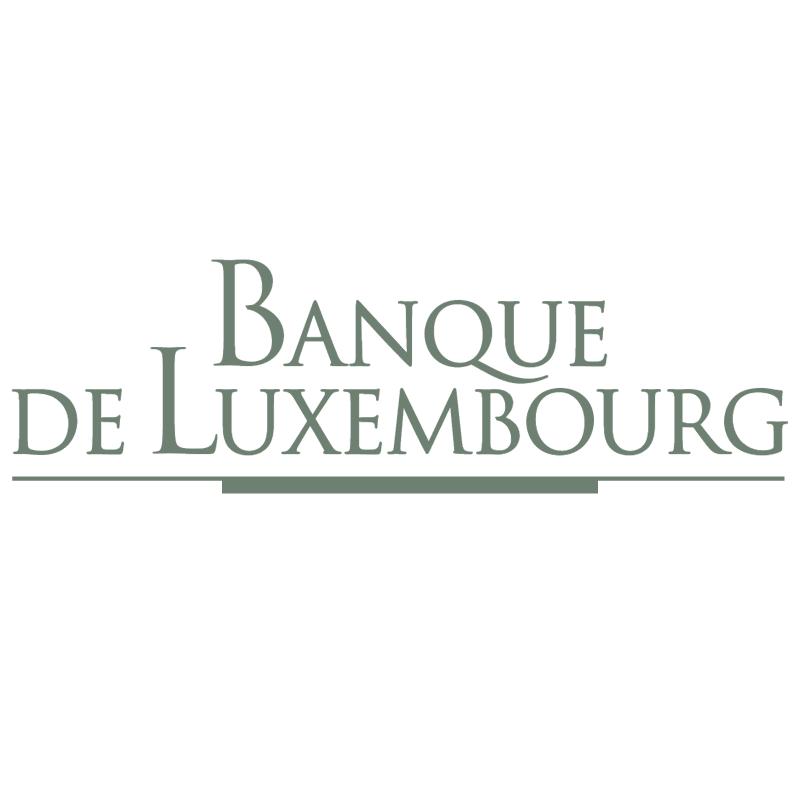 Banque de Luxembourg vector