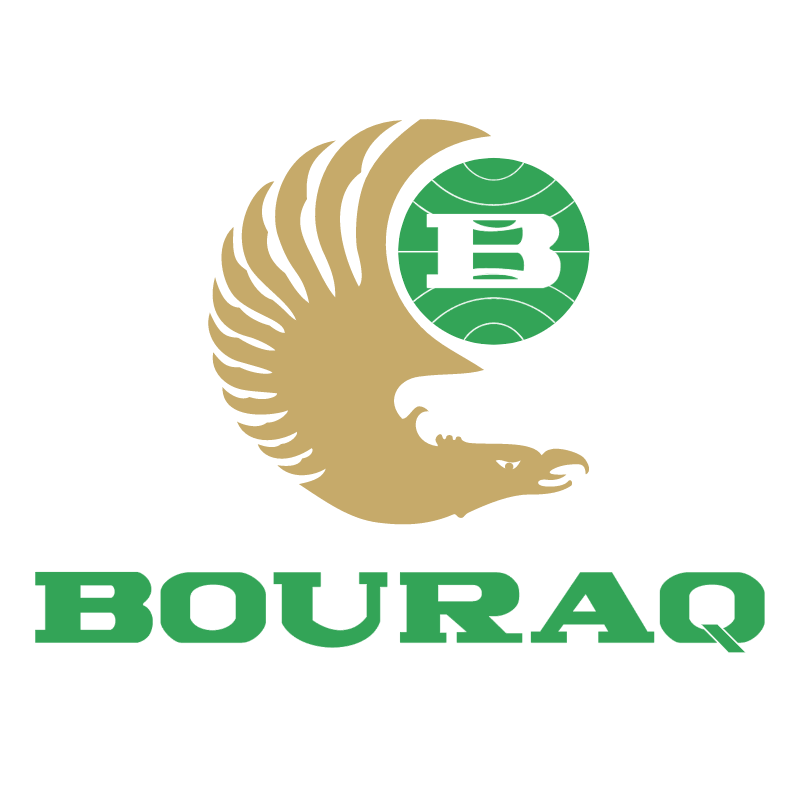 Bouraq Airlines 74035 vector