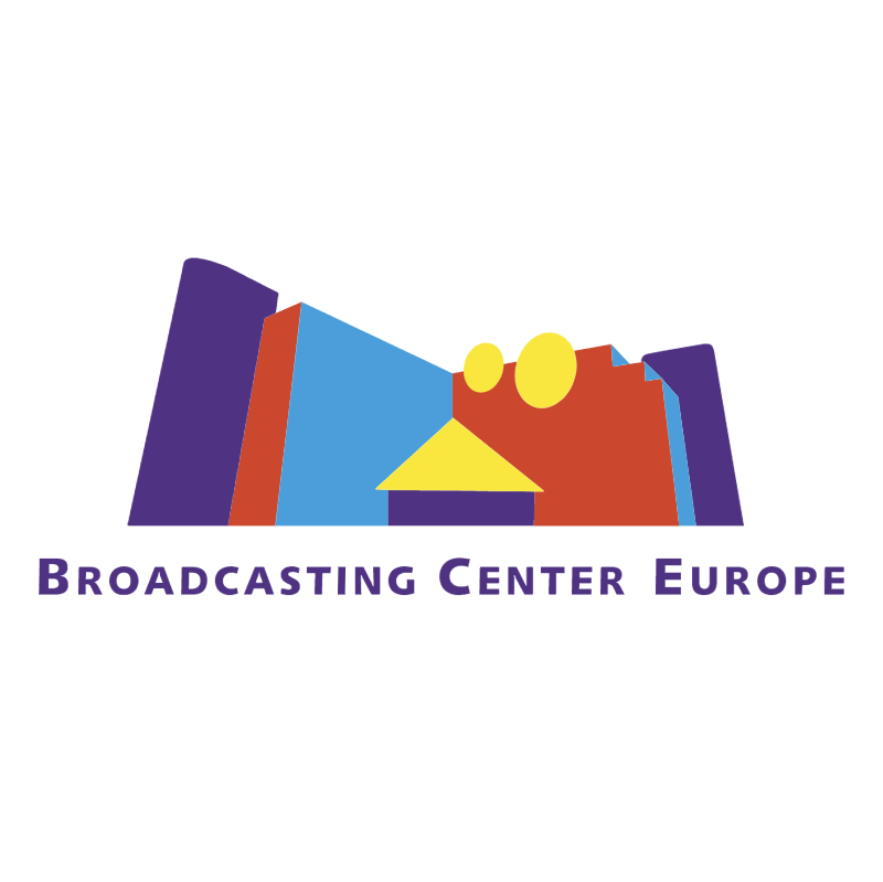 Broadcasting Center Europe vector