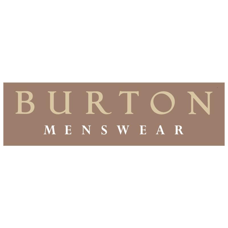 Burton Menswear vector