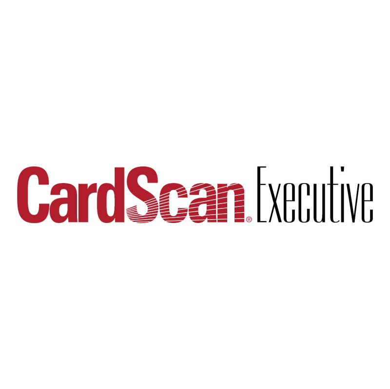 CardScan Executive vector