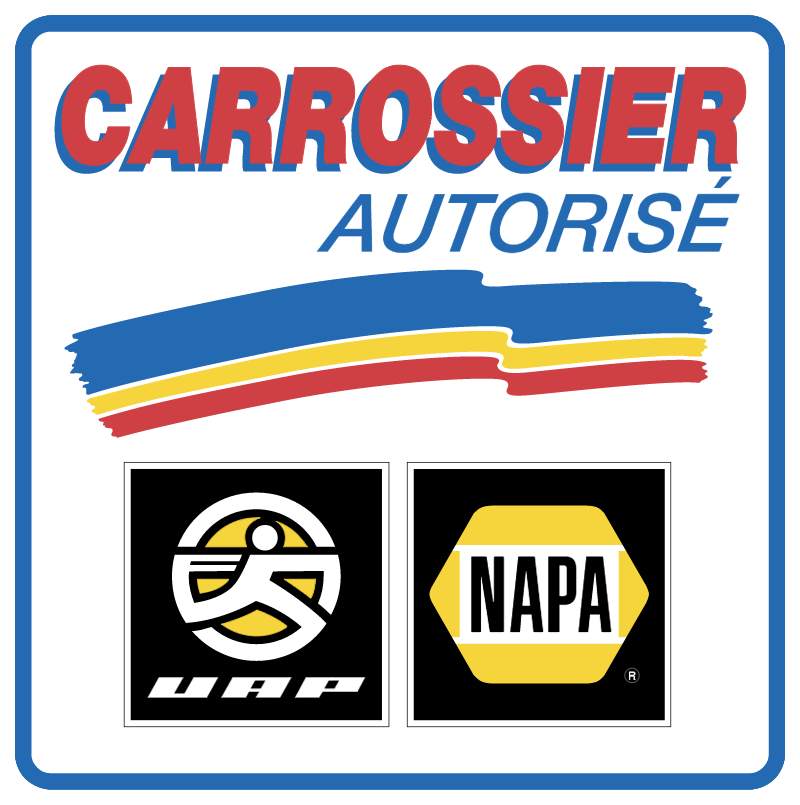Carrossier autorise logo vector