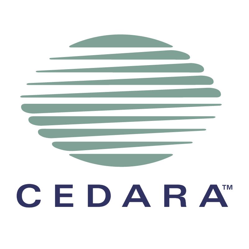 Cedara vector logo