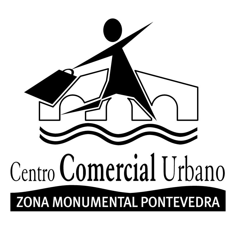 Centro Comercial Urbano vector
