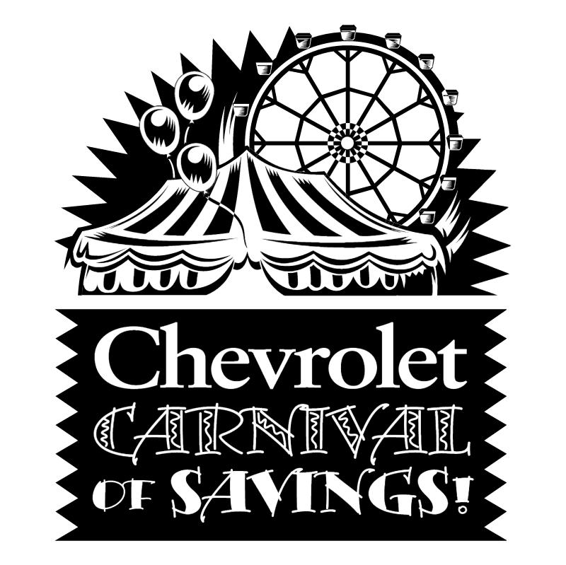 Chevrolet Carnival of Savings vector