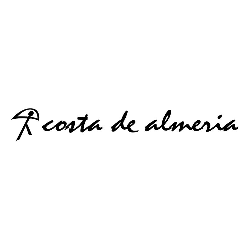 Costa de Almeria vector