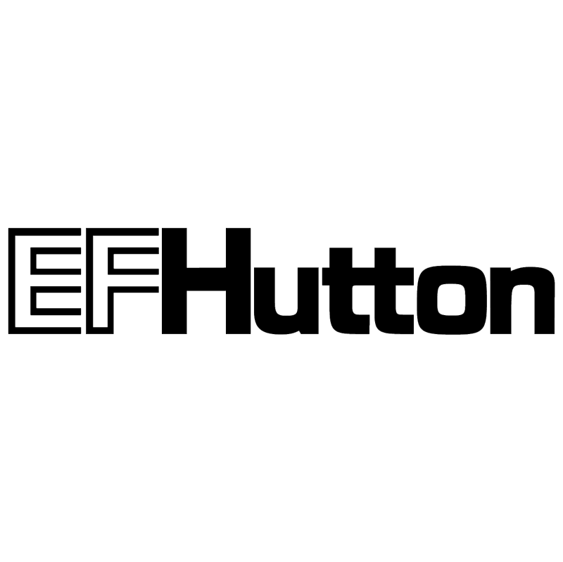 EFHutton vector