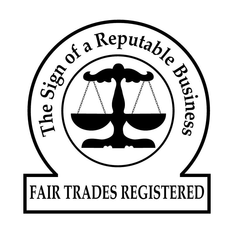 Fair Trades Registered vector