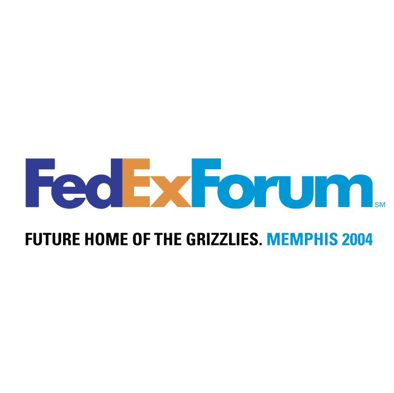 FedExForum vector