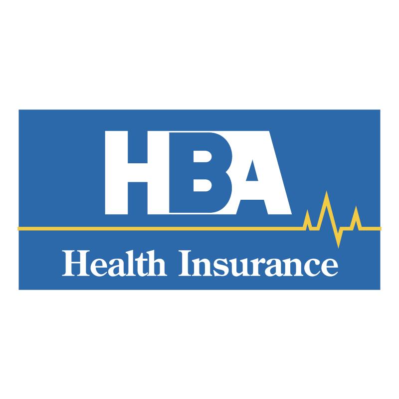 HBA Health Insurance vector logo