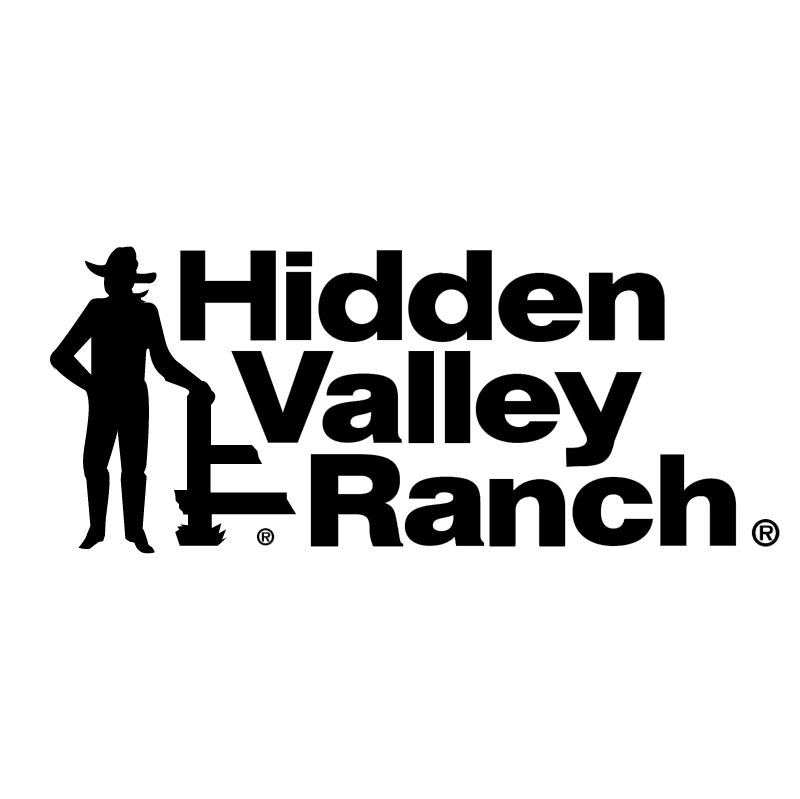 Hidden Valley Ranch vector