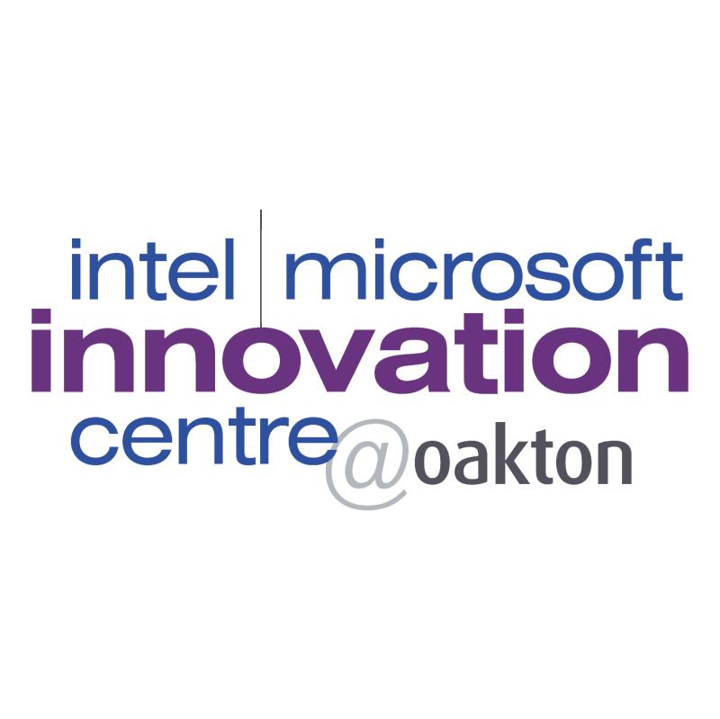 Intel Microsoft Innovation centre oakton vector