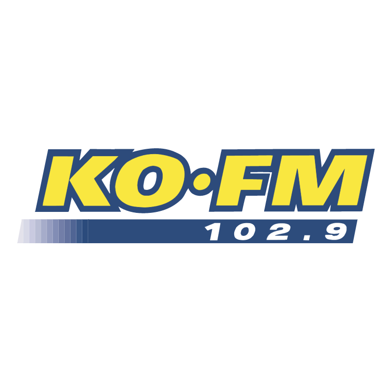 KO FM vector logo