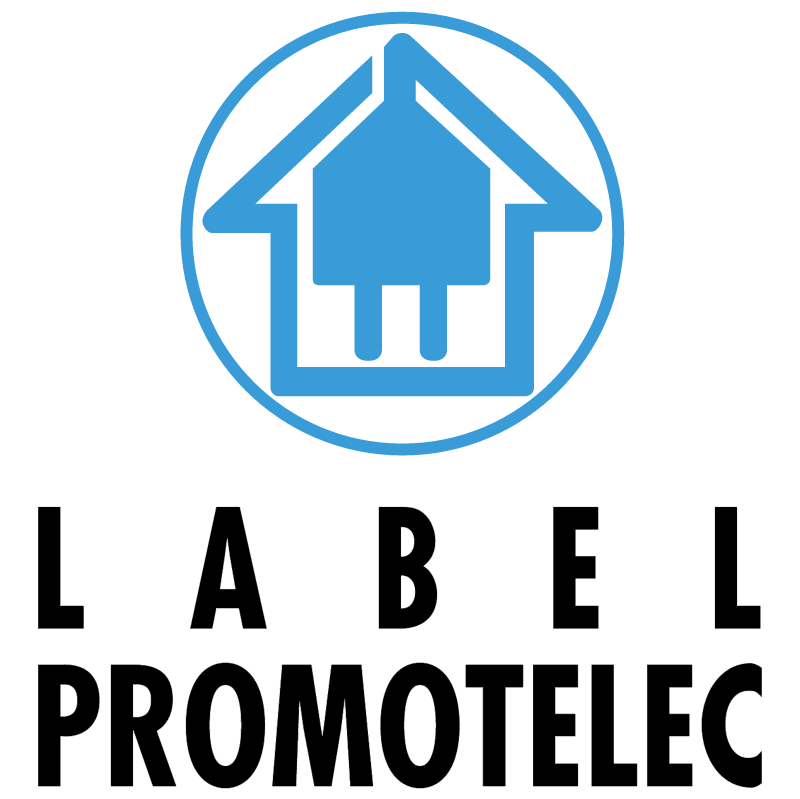Label Promotelec vector