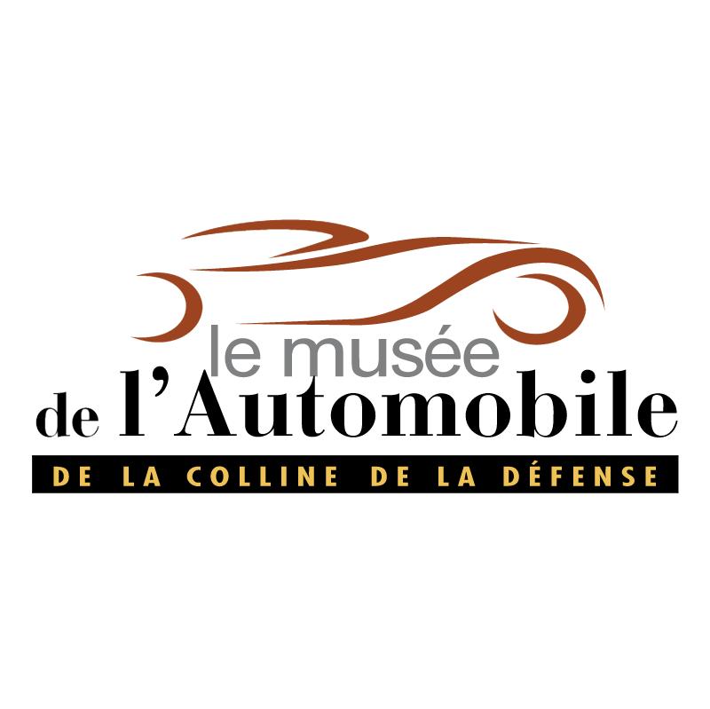 Le Musee de l'Automobile vector