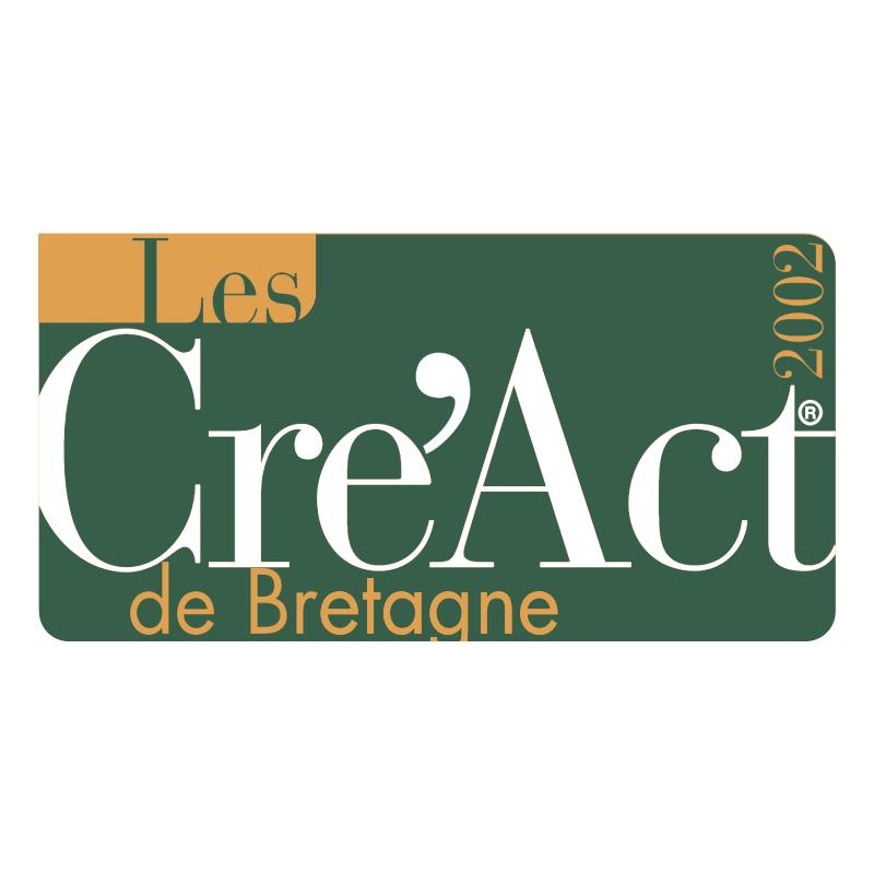 Les Cre'Act de Bretagne vector