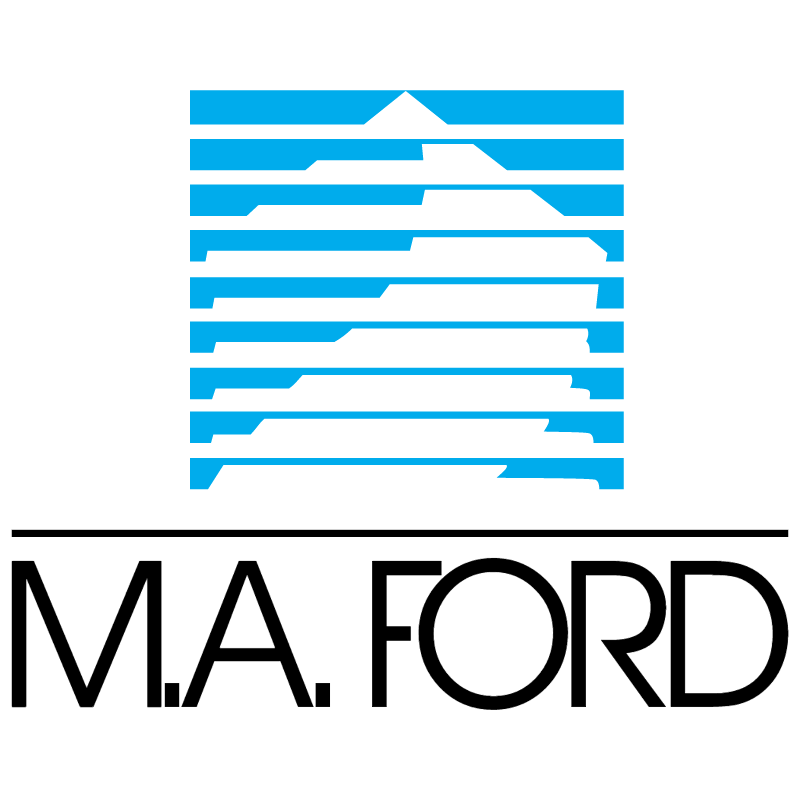 M A Ford vector logo