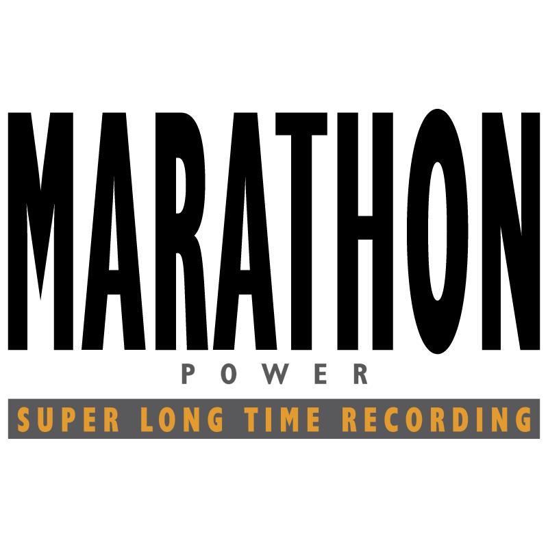 Marathon Power vector