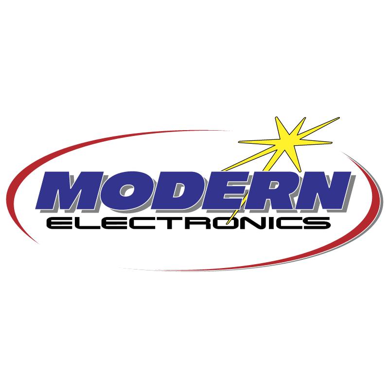 Modern Electronics vector