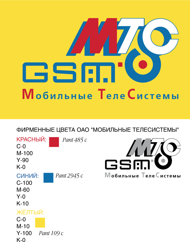 MTS Mobile TeleSystems vector logo