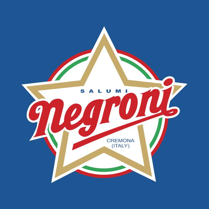 Negroni vector logo