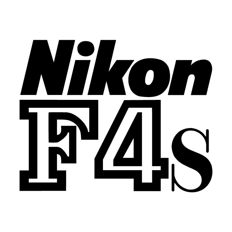 Nikon F4s vector