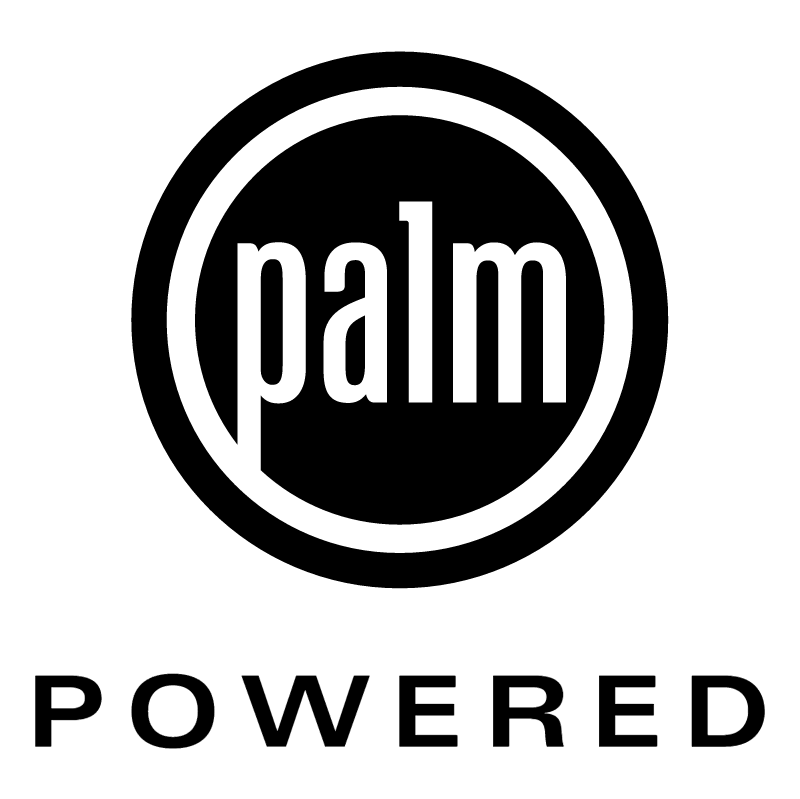 Palm Powered vector