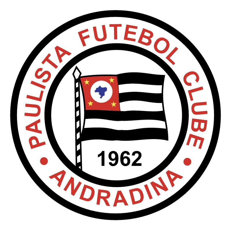 Paulista Futebol Clube de Andradina SP vector