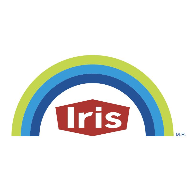 Pinturas Iris vector logo