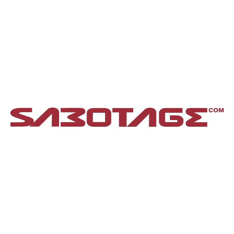 Sabotage vector logo