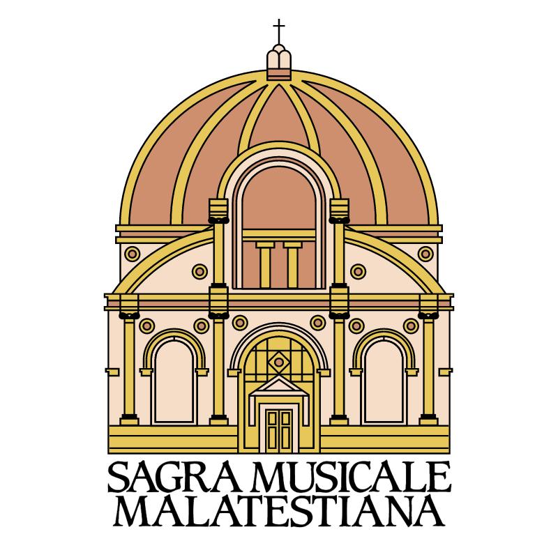 Sagra Musicale Malatestiana vector logo