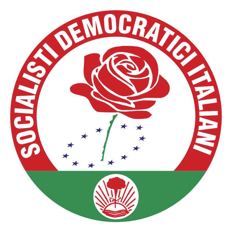 Socialisti Democratici Italiani vector logo