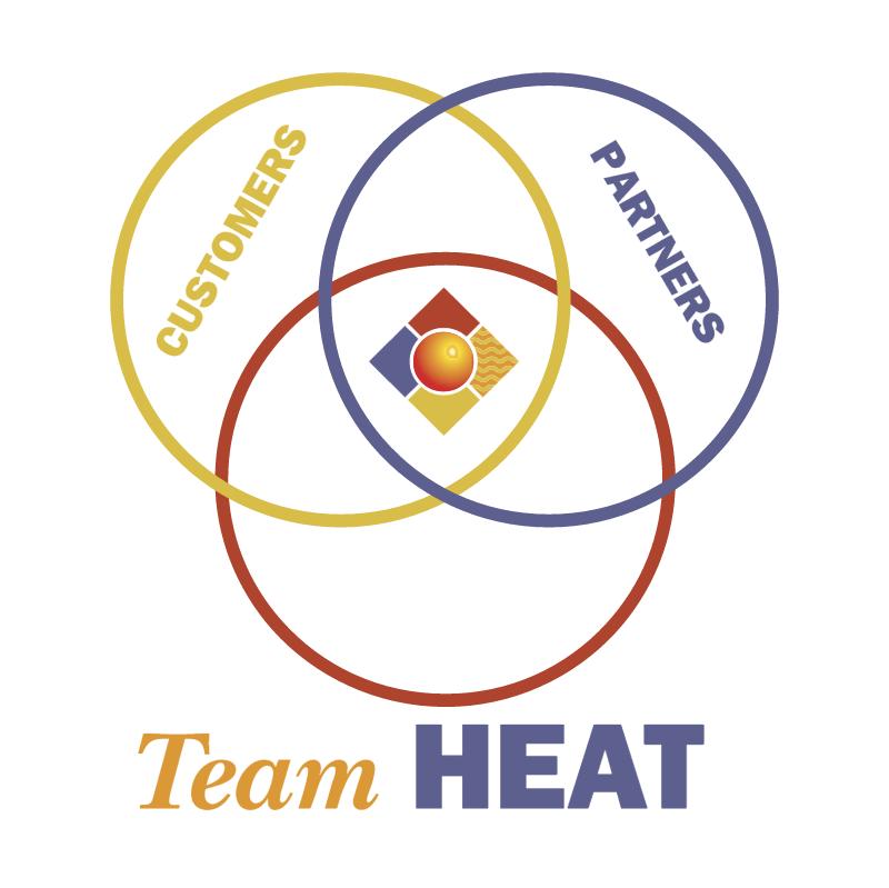 Team HEAT vector