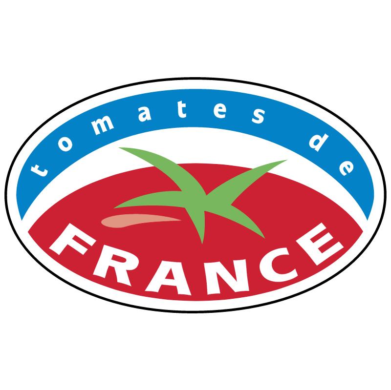 Tomates de France vector