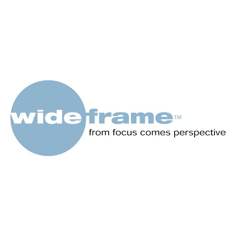 Wideframe vector logo