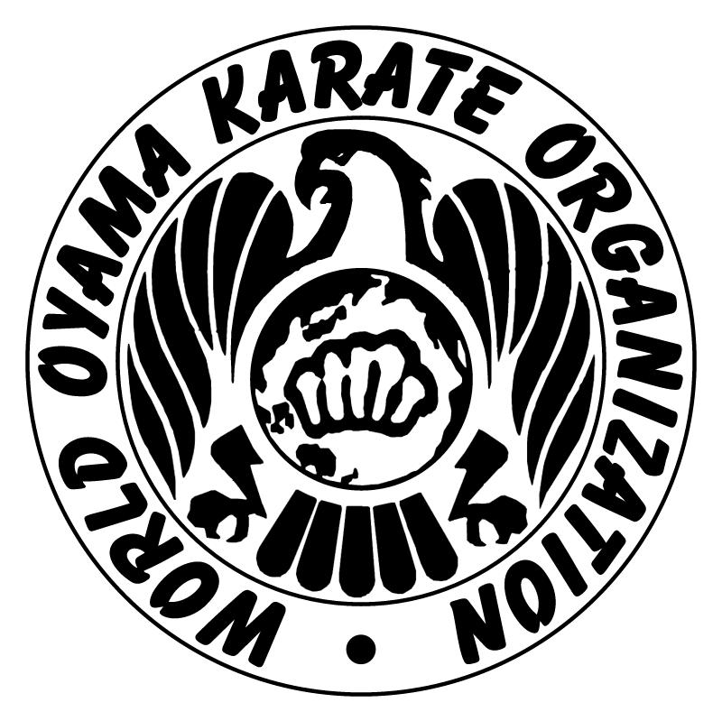 World Oyama Karate Organization vector