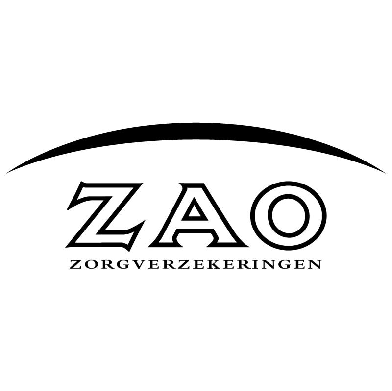 ZAO Zorgverzekeringen vector