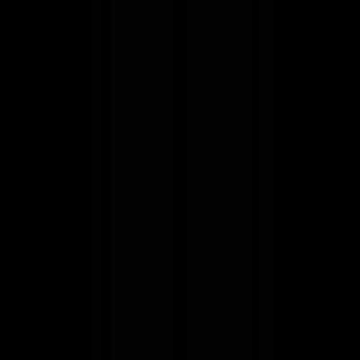 Straight road vector logo